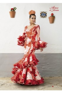 Traje Flamenca Andaluza