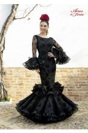 Traje Flamenca Abanico