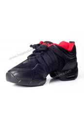 Sneaker ante-lona con cámara de aire, color Negro