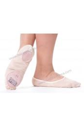 Zapatilla de Ballet Suela Partida (Lycra)