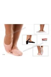Zapatilla Ballet 1/2 punta piel suela entera