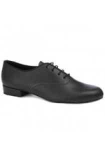 Zapato de Salón Caballero con Tacón Normal (Negro)